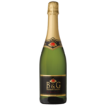 B&G Sparkling Square Label