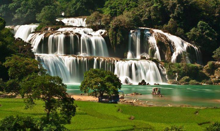 Водопад Suoi Tranh (Da Ban Stream)