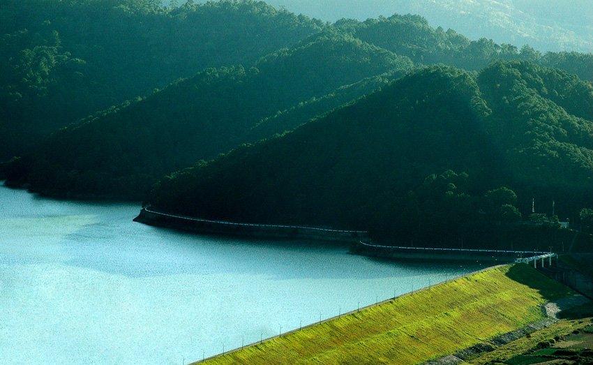 Окрестности Фукуокской ГЭС