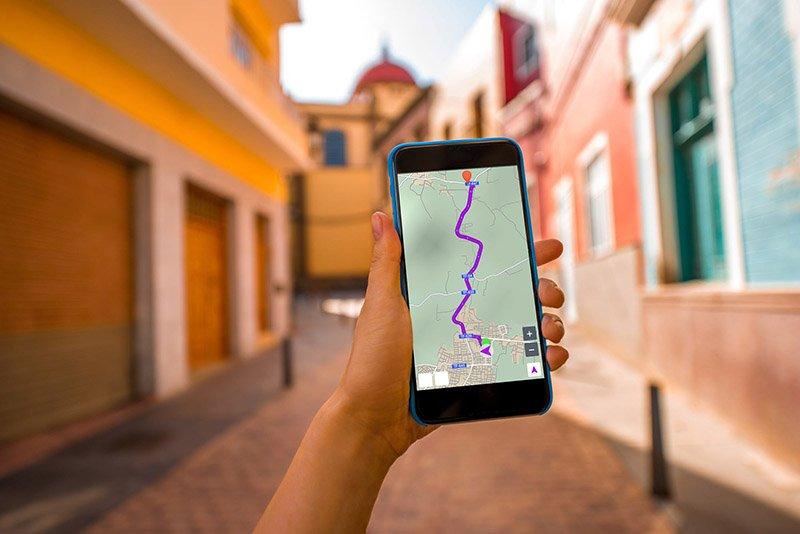 Приложение карта для путешествий