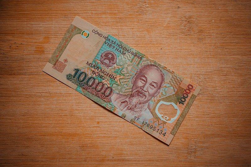 Банкнота достоинством ₫ 10 000
