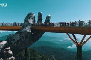 Руки гиганты: Золотой мост в Дананге