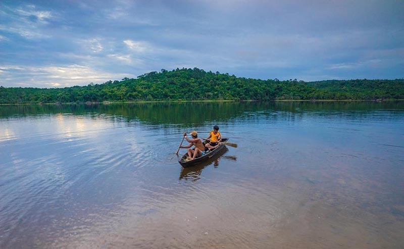 озеро на фукуоке (phu quoc lake, duong dong lake)