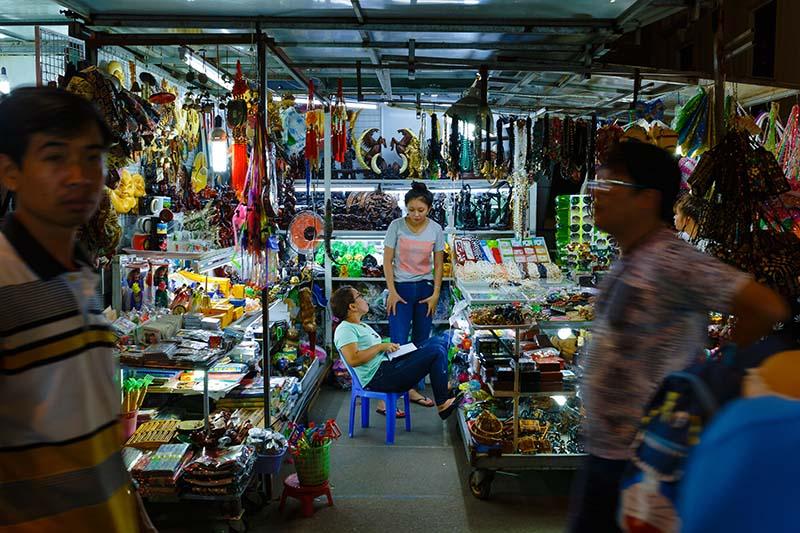 Рынок на Фукуоке