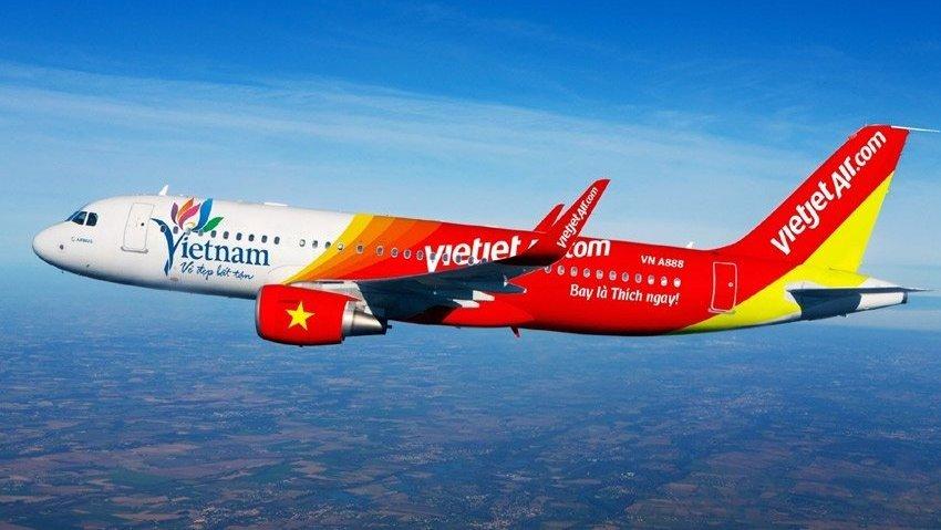 Самолет авиакомпании VietJet Air