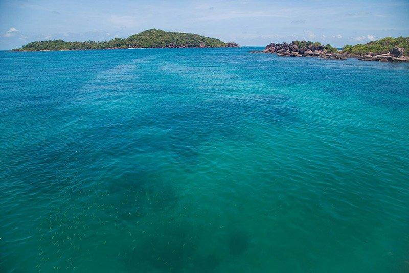 Море в окрестностях пляжа Бай Дай