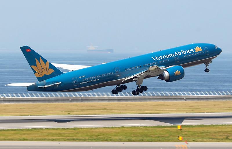 Самолет авиакомпании Vietnam Airlines