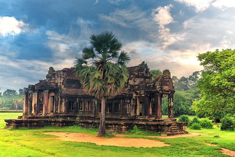 Древний храм Камбоджи
