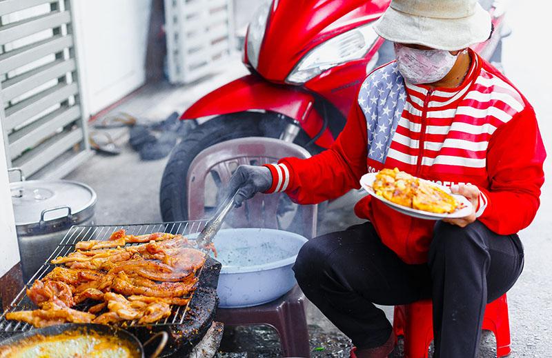 Уличная кухня на Фукуоке