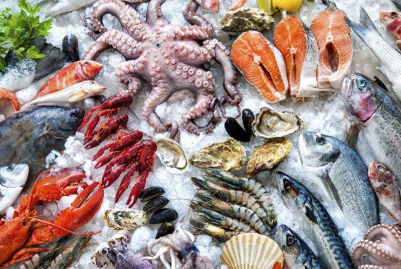 Морепродукты Фукуока